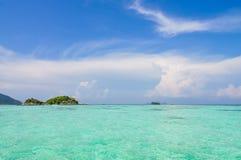 för öko för strand härlig phi thailand Arkivbild