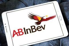 För ölföretag för AB InBev logo Fotografering för Bildbyråer