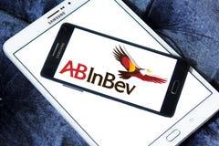 För ölföretag för AB InBev logo Arkivbild