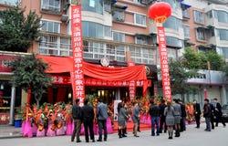 för öppningspengzhou för porslin nytt lager royaltyfri fotografi