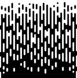 För övergångsabstrakt begrepp för vektor rastrerad modell för tapet Sömlösa svartvita ojämna rundade linjer bakgrund för Royaltyfria Foton