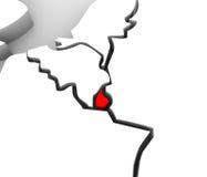 för översiktsLuxembourg Europa för abstrakt begrepp 3D länder kontinent stock illustrationer