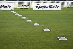för övningsrad för bollar ngc2009 taylormade Royaltyfri Foto