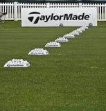 för övningsrad för bollar ngc2009 taylormade Fotografering för Bildbyråer