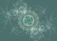 För abstrakt begrepp fractalbakgrund swirly Arkivbild