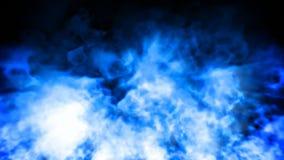 För abstrakt begrepprörelse för blå flamma ögla för bakgrund sömlös royaltyfri illustrationer