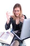 för advokatlärarkandidat för affär etc. kvinna Arkivbilder