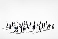 För affärsfolk för globala kommunikationer begrepp för diskussion vektor illustrationer