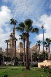 för alexandria för abbas abulal mursi moské Arkivfoton