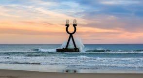 För alfabetisk och omega landskap Spanien Fotografering för Bildbyråer