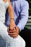 för alltid bara att gifta sig tillsammans Fotografering för Bildbyråer