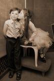 för alltid barn Royaltyfria Bilder