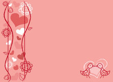 för alltid förälskelse Royaltyfri Illustrationer