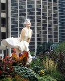 """""""För alltid Marilyn"""" vid Seward Johnson Arkivfoto"""