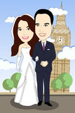 för alltid tillsammans Royaltyfria Foton