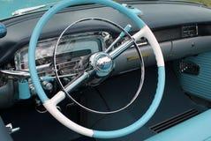 Inre för amerikanklassikerbil Fotografering för Bildbyråer