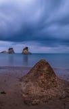 För `-amourthe för kanal D kanal av förälskelse i Korfu Grekland fotografering för bildbyråer