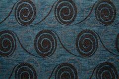 För Anemon 145 för textur för textiltyg blå färg flygvapen Royaltyfria Bilder