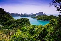 För Ang-Thong för Mu Ko nationalpark Arkivbilder