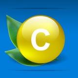 för apelsinstil för c nytt sunt vitamin Arkivfoto