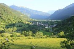 by för arabroto pyrenees flod Royaltyfria Bilder