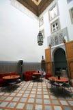 för arkitektur moroccan inomhus Royaltyfria Foton
