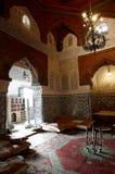 för arkitektur moroccan inomhus Royaltyfri Fotografi