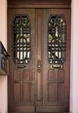 För arkitekturhem för dörr gammal design Royaltyfri Foto