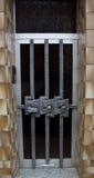 För arkitekturhus för dörr greative arbete för gammal design Royaltyfria Bilder