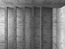För arkitekturkonstruktion för mörker konkret bakgrund för abstrakt begrepp Royaltyfri Bild