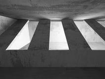 För arkitekturkonstruktion för mörker konkret bakgrund för abstrakt begrepp Royaltyfri Foto