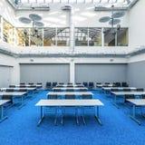 För arkivstudie för modern design korridor royaltyfria bilder