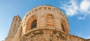 för armenisk jerusalem stadsdormition för abbey gammal fjärdedel Arkivfoto