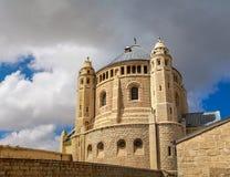 för armenisk jerusalem stadsdormition för abbey gammal fjärdedel Royaltyfri Bild