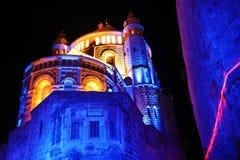 för armenisk jerusalem stadsdormition för abbey gammal fjärdedel Arkivfoton