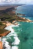 för Australien för 12 apostlar väg stor hav Arkivfoton