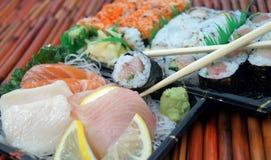 För avhämtning sushi Royaltyfri Foto