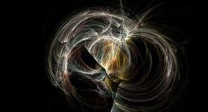 För backgoundnebulosa för supernova ljus abstrakt explosion Royaltyfri Fotografi