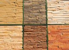 för bakgrund för stentextur sömlöst belägga med tegel vägg Arkivfoton