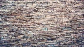 för bakgrund för stentextur sömlöst belägga med tegel vägg Vägg som göras av den naturliga stenen Naturlig sten med plattor Royaltyfria Bilder