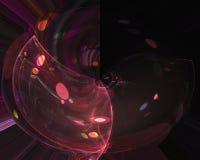 För bakgrundenergi för abstrakt beståndsdel magisk fractal för mall för vetenskap, härlig designfantasi för form som är dekorativ vektor illustrationer