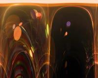 För bakgrundenergi för abstrakt beståndsdel magisk fractal för vetenskap, härlig designfantasi för form, royaltyfri illustrationer