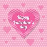 för bakgrundsdagguld röd s valentin för hjärtor Royaltyfri Bild