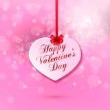 för bakgrundsdagguld röd s valentin för hjärtor Arkivfoton