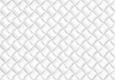 För bakgrundsdesign för vit abstrakt modell 3d framför Arkivfoton