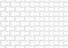 För bakgrundsdesign för vit abstrakt modell 3d framför Royaltyfri Bild