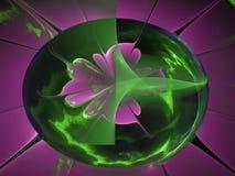 För bakgrundsidé för Fractal abstrakt unik ljus digital dröm- modern idérik magi för garnering Fotografering för Bildbyråer