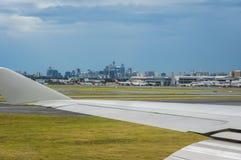 för bakgrundsillustration för flygplan 3d white för lopp Royaltyfri Fotografi
