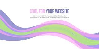 För bakgrundstitelrad för design abstrakt website Arkivfoton