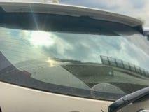 För baksida torkare tillbaka av bilen Royaltyfri Fotografi